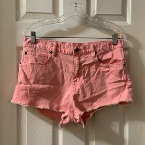 Denim & Supply Ralph Lauren Pink Denim Shorts 30